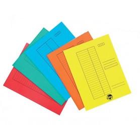 Gyorsfűző papír színes...