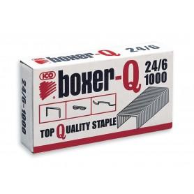 Tűzőkapocs -24/6- ICO BOXER-Q