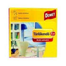 Törlőkendő Domet 3db/csomag