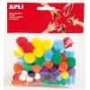 Pom-pom vegyes színek APLI...