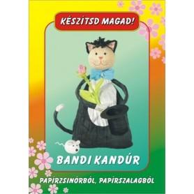 Kézműves csomag - Bandi kandúr