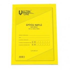 Nyomtatvány építési napló...