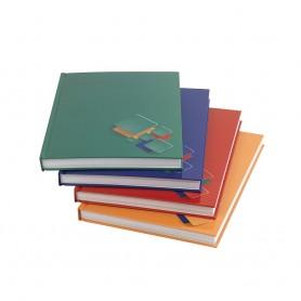 Beírókönyv A4 192l kockás,...